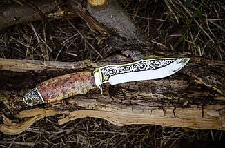 """Нож ручной работы """"Филин"""", 40Х13, фото 2"""