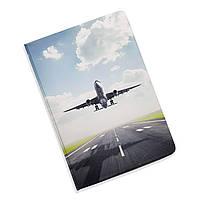 Обложка для документов 5 в 1 Самолет ZIZ на паспорт, для прав, для автодокументов