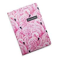 Обложка для документов 5 в 1 Фламинго ZIZ на паспорт, для прав, для автодокументов