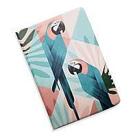 Обложка для документов 5 в 1 Попугай ZIZ на паспорт, для прав, для автодокументов