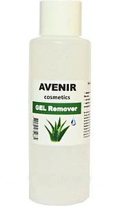 """Жидкость для снятия гель лака """"Алое"""" AVENIR Cosmetics 100 мл."""