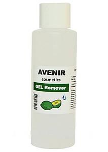 """Жидкость для снятия гель лака """"Лайм"""" AVENIR Cosmetics 100 мл."""
