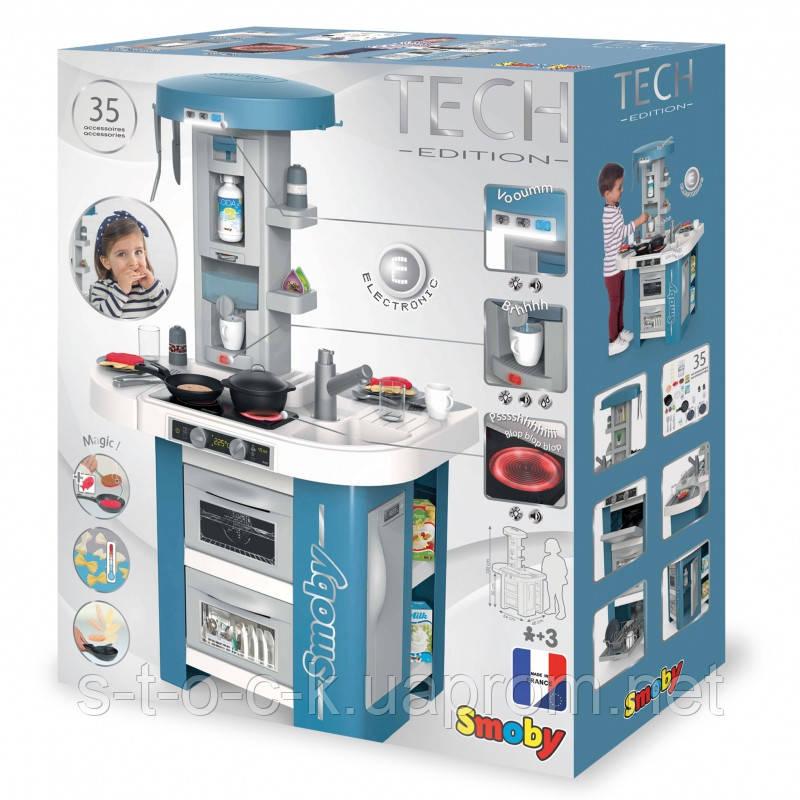 Інтерактивна електронна кухня Smoby Tech Edition