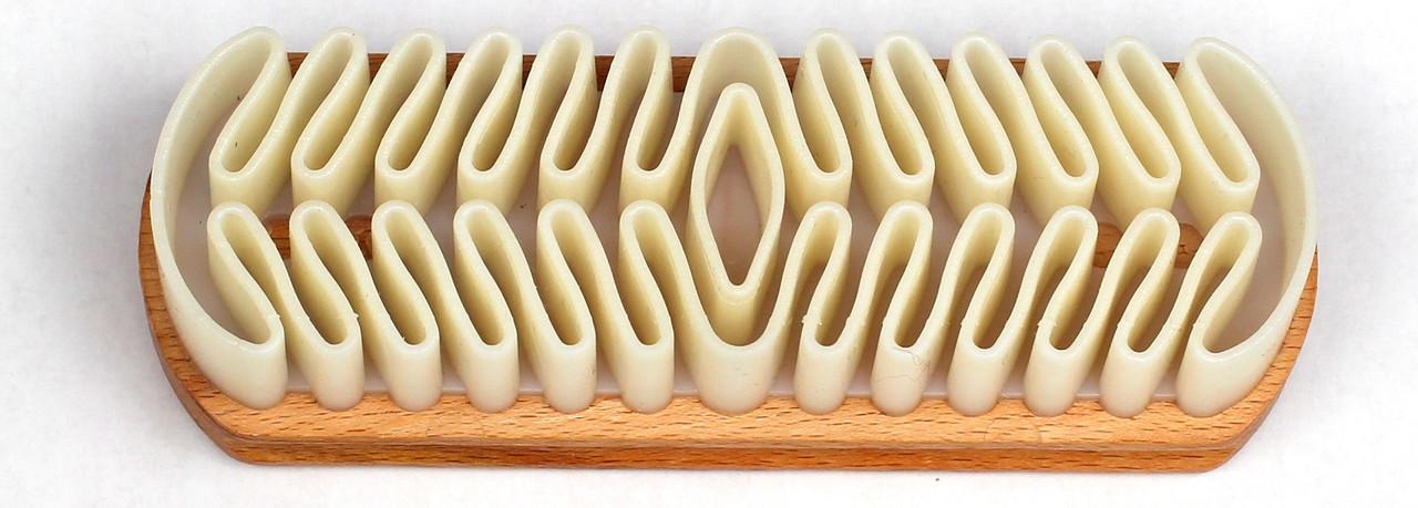 Щетка для нубука резиновая Coccine 125мм