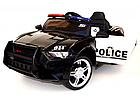 Електромобіль Поліція Ford Mustang Police MP3, дисплей, порт USB, порт SD Card, світлові ефекти, C2007, фото 2