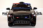 Електромобіль Поліція Ford Mustang Police MP3, дисплей, порт USB, порт SD Card, світлові ефекти, C2007, фото 5