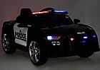 Електромобіль Поліція Ford Mustang Police MP3, дисплей, порт USB, порт SD Card, світлові ефекти, C2007, фото 6