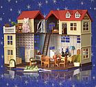 Будиночок для флоксовых тварин, меблі, фігурки тварин в комплекті Happy family 012-10, фото 3