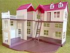 Будиночок для флоксовых тварин, меблі, фігурки тварин в комплекті Happy family 012-10, фото 4