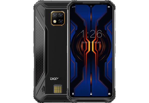 Защищенный телефон  Doogee S95 Pro black противоударный водонепроницаемый смартфон