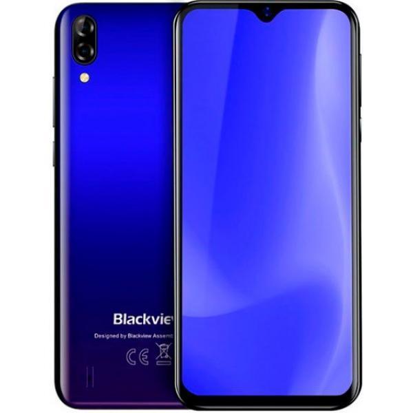 Защищенный телефон  Blackview A60 blue противоударный водонепроницаемый смартфон