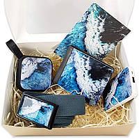 Подарочный набор бокс ZIZ Океаническая волна