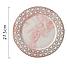 Керамическая тарелка с мраморным узором. Модель RD-6541, фото 8