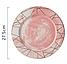 Керамическая тарелка с мраморным узором. Модель RD-6541, фото 9