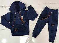 Детский костюм 1-4 года трехнитка для мальчиков Турция оптом, фото 1