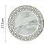 Керамическая тарелка с мраморным узором. Модель RD-6541, фото 10