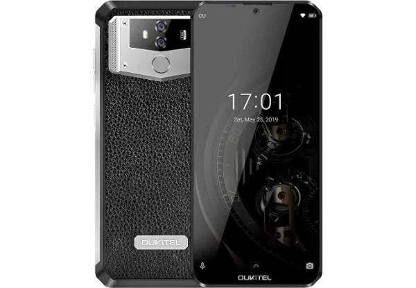 Защищенный телефон  OUKITEL K12 black противоударный водонепроницаемый смартфон