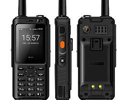 Захищений протиударний кнопковий телефон Uniwa ALPS F40 black. РАЦІЯ, Android