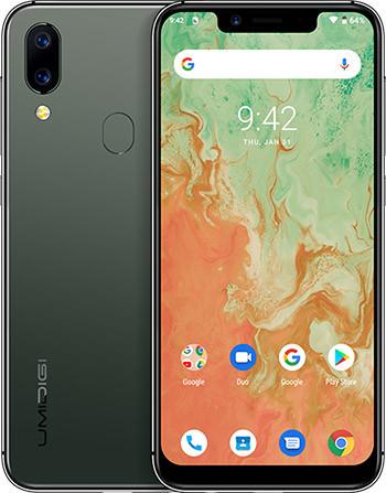 Смартфон  Umidigi A3X green