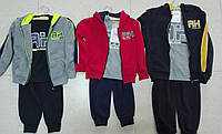 Трикотажний костюм-трійка з начосом для хлопчиків Sincere, Артикул: LL2787