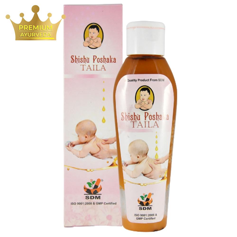 Шишу Пошака Тайла (Shishu Poshaka Taila, SDM) - аюрведичне масло для дітей, 100 мл