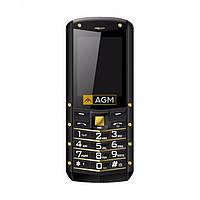 Защищенный противоударный кнопочный телефон AGM M2 gold Russian keyboard