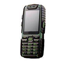 Защищенный телефон Land Rover A6 (Guophone A6) green противоударный влагостойкий смартфон