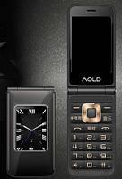 H-Mobile A7 (AOLD A7) black. Dual color screen. Flip