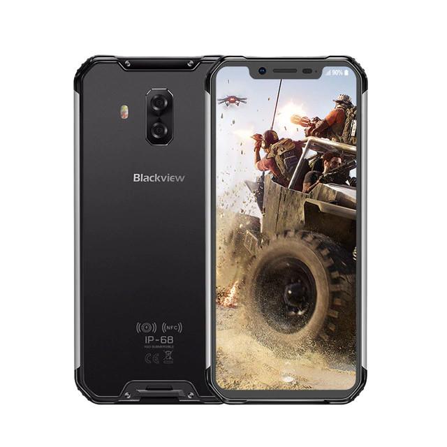 Защищенный телефон  Blackview BV9600E black противоударный водонепроницаемый смартфон