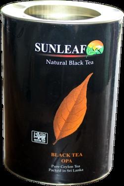 SUNLEAF Чорний чай ( заварний) ОРА 75 грам ( в Тубусі)