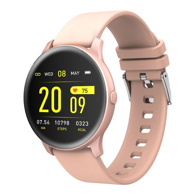 Умные cмарт часы Kospet Magic pink smart фитнес браслет трекер