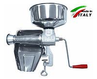 NEW OMRA OM-2300-ER ручная шнековая соковыжималка - протирка для томатов, ягод, мягких фруктов, итальянская