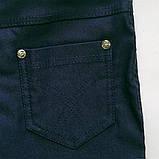 Леггинсы утепленные для девочки SmileTime Classic Jeans, джинс, фото 4