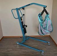 Електричний реабілітаційний підйомник для пересадки і купання Aks Foldy б/у, фото 1
