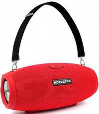Портативная Bluetooth колонка Hopestar H26 mini, красная, фото 3