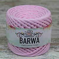 Трикотажная пряжа BARWA standart 7-9 мм, цвет Светло-розовый
