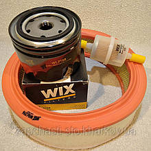 Набор для ТО ВАЗ 2108, 2109, 2110 фильтров воздушный масляный бензиновый WIX