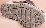 Ботинки зимние подростковые на липучках от производителя модель АМП100-5, фото 5