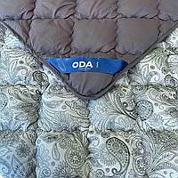 Одеяло стёганное | ОДА | Тепла ковдра 175х210 см. | Одеяло Двуспальное | Зимова ковдра, наповнювач холлофайбер