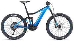 Электровелосипед Giant Trance E+ 2 Pro 25km/h черный/синий (GT)