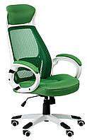 Кресло офисное Briz green/white