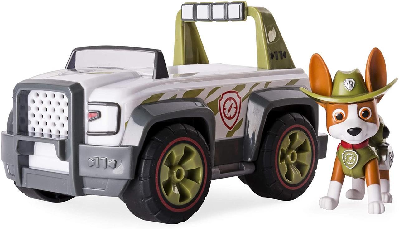 Игровой набор Paw Patrol. Jungle Rescue, Tracker's Jungle Cruiser. (Щенячий патруль. Трекер Джангл Круизер)