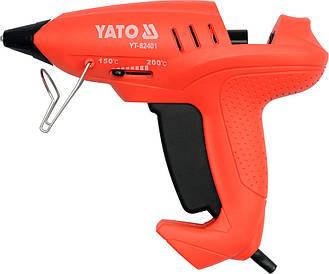 Пистолет термоклеящий 400 Вт YATO YT-82401