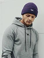 Чоловіча зимова шапка Staff purple, фото 1