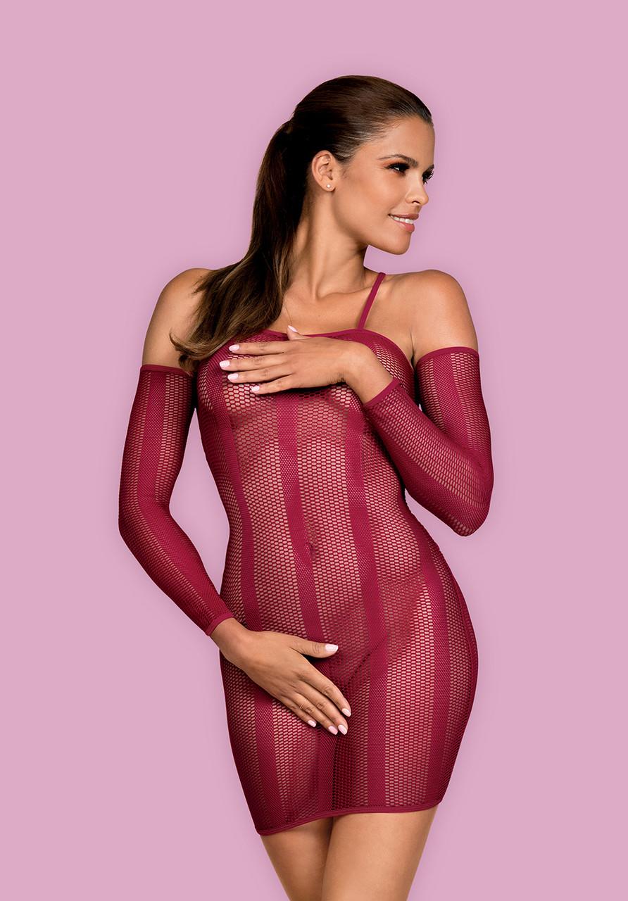 Сексуальное красное платье Obsessive