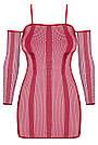 Сексуальное красное платье Obsessive, фото 3