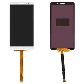 Дисплей (экран) для Huawei Mate 8 NXT-L29A з сенсором (тачскріном) белый