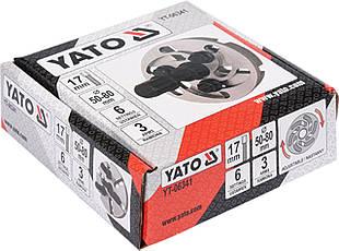 Знімач з регульованим шківом з 3 лапками YATO YT-06341, фото 2