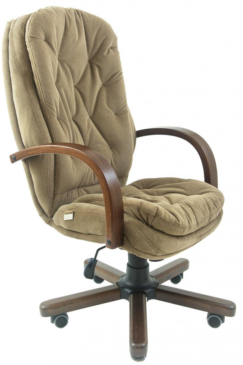 Офисное Кресло Руководителя Венеция Rosto 40 Wood М3 MultiBlock Оливковое