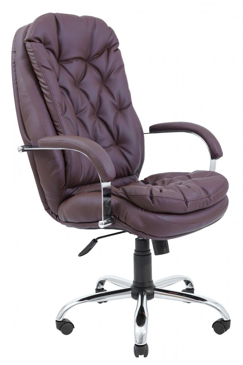 Офисное Кресло Руководителя Richman Венеция Флай 2231 Хром M1 Tilt Коричневое